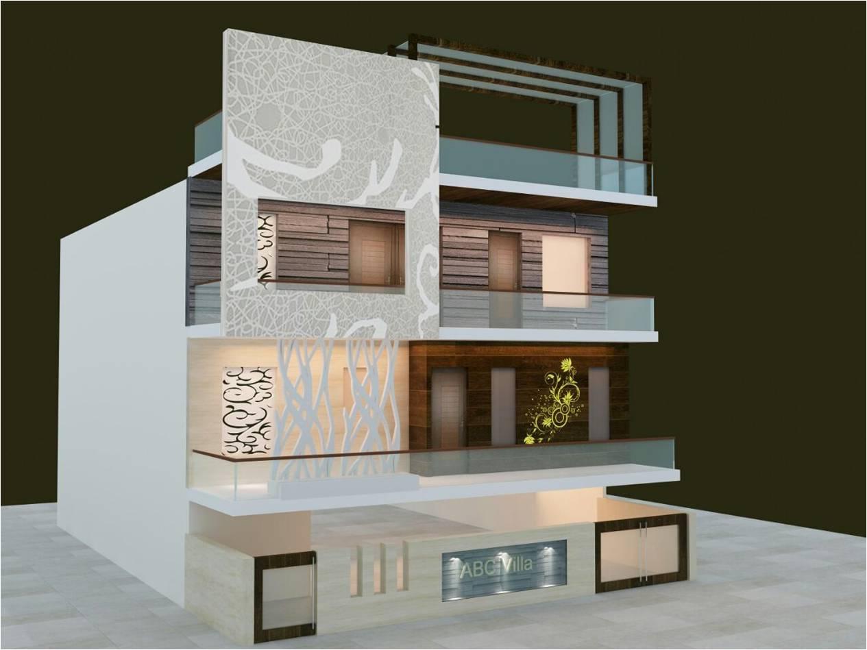 exterior elevation designer in delhi ideas org in