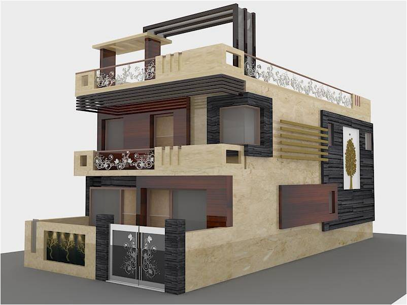 Exterior Elevation Designer In Delhi Ideas Org In